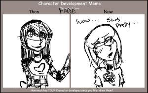 Character Development meme by onnaevilsmith by KrazieKat2112