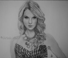 Taylor Swift Art Trade by ladysofhousen