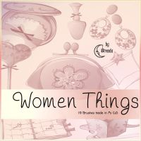 Women Things III Brushes by Coby17