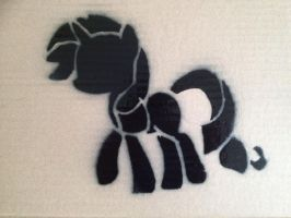 Rarity Stencil #2 by SCARFI5H