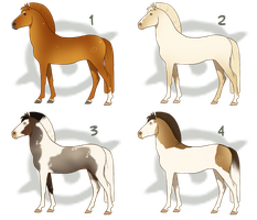 Horse Design Batch - Gifts by Cat-Orb