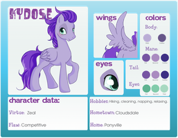 Kydose Ref Sheet by KydoseXRarity