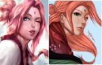 Future Sakura, 5 yrs apart by Artipelago