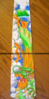 Dad's gift - Dragon Tie by Chelsea-C