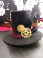 steampunk mini top hat by yinco
