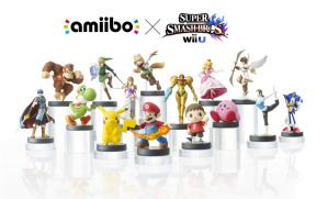 Super Smash Bros. Amiibo by DeverexDrawer