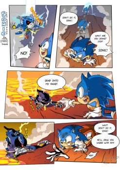''Sonic the Movie'' redraw Page 1 by FinikArt