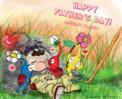 Pikmin: Happy Father's Day! -Part 2- by saiiko