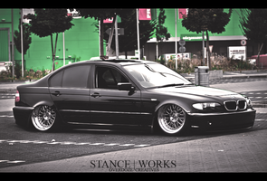 Bmw E46 Stance by OverdozeCreatives