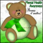Mental Health Bear by serafina-rose
