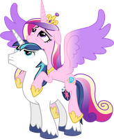 Cadance Atop Shining (Weary Version) by 90Sigma