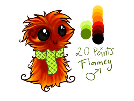 Scarfblob adoptable SOLD by FAFs-adoptables