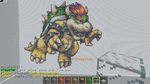 Minecraft - Bowser by Ludolik