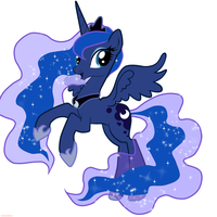 Princess Luna by NezhenkaLove