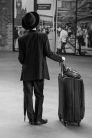 The Traveller by daliscar