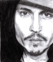 Johnny Depp by freshfleshy