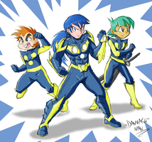 Team Nova Commission by Danmakuman by DestinyDecade