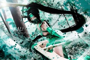 Akali_League of Legends by AMPLE-COSPLAY