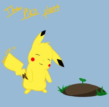 The pika plant by AprilWolf