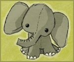 mr. elephant by unperfections