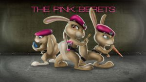 The Pink Berets by TavoGDL