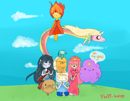 adventure time ! by Ruunii