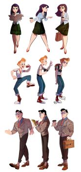 Lois, Jimmy and Clark by The-Orange-One