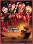 Pirates of the Caribbean starring One Piece poster by SimonaZ