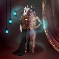 Bishr and Shahzad by PreciseMoon