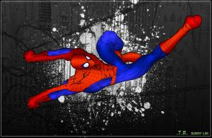 Spiderman - Colored by centric-prometheus