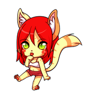 Chibi Raisa by luna777