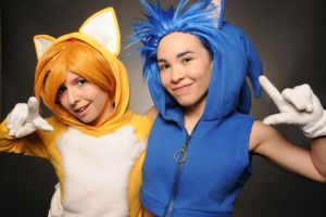 Because We're Sonic Heroes! by Red-Matter