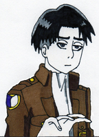 Captain Levi Wants You To Remain Calm by tabby25