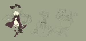 Draw or Trade Adopts .:WIP 2:. by Pieology