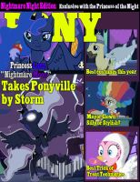 Pony Magazine Nightmare Night Edition by eternaluprising4