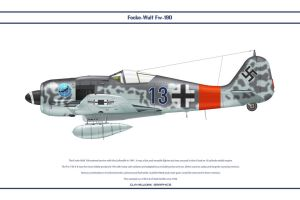 Fw190A8 JG300 2 by WS-Clave