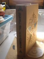 5 Element Book Box Spine WIP by WillowForrestall