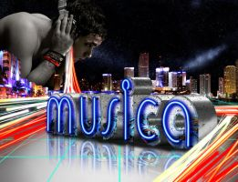 "MUSICA ""music lights"" by karlozerre"