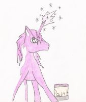 Invisible Pink Unicorn by Draxflygon