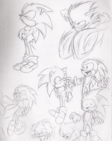 Sonic expressions by Saber16