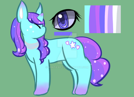 Pony Adopt .:OPEN:. by MintIeafs
