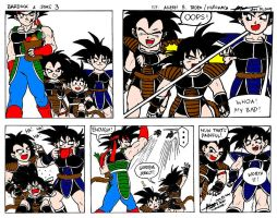 Bardock and Sons 3 by hirokada