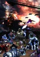 Halo Reach Multiplayer Cover by OrangeClover