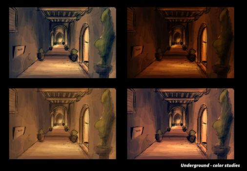 Underground Color Studies by MemorySoul