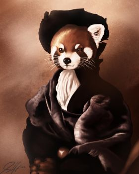 Fancy Red Panda by JGHart