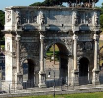 Arch of Constantine by ChaseStarlit