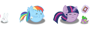 MLP FIM: Emoticons by Super-Zombie
