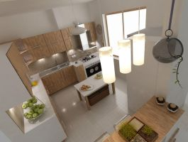 kitchen design 2 by shahrzadabtahi