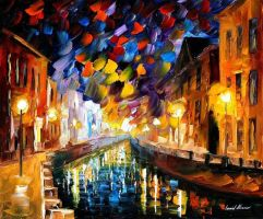 Farewell by Leonid Afremov by Leonidafremov
