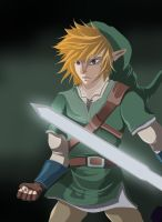 Link  hero of time by Link-artist